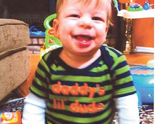 Rochelle Blanco of Boardman sent in this photo of her grandson, Colton Smith, who is indeed a smiling little dude.