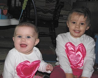 Bev Craig sent in this photo of her happy granddaughters, who live in Wooster. They are the daughters of Brandon and Marcie Craig.