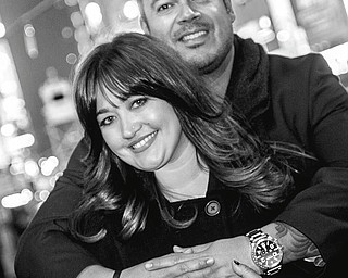 Melissa Myers and Jaime Santiago