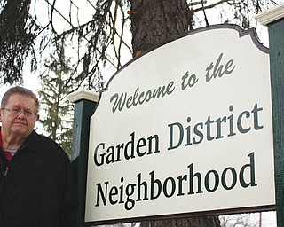 Jerry O'Hara is president of the Garden District Neighborhood Association, which was formed in 2011. Its 80 members tend to the lower West Side neighborhood, which stretches from Fellows Riverside Gardens to Belle Vista Avenue. From there, it extends south to McCollum Road.