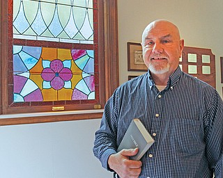 Pastor Jay Eastman serves as a chaplain with Hospice of the Valley, Humility of Mary Health Partners. He also is pastor of Canfield Christian Church and a chaplain with the Canfield Police Department.