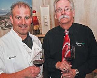Vernon Cesta, left, and Dennis Huston