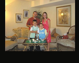 Here is the Fiorenza family from Canfield, celebrating Easter in 2009 in Hillsboro Beach, Fla. Photo sent in by Billie-Jo Fiorenza.