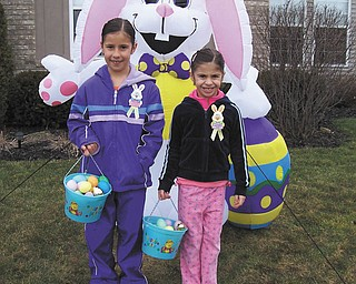 Rose Marsco sent in this favorite photo, which is of her nieces, Kayla and Sara Ciletti of Howland.