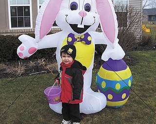Rose Marsco sent in this photo of her nephew Jacob Buttar of Niles. She says it's her favorite photo of him.