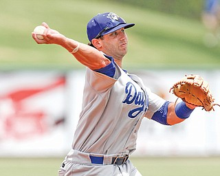 Greg Rohan, shown here playing third base for the Daytona Cubs last April, will look to continue his promising professional career when he finishes rehabbing a herniated disc with the Cubs' extended spring training in Mesa, Ariz.