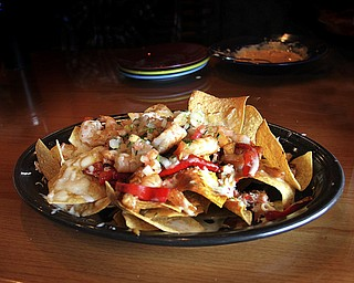 Seafood nachos at Don Victor's Authentic Mexican Restaurant & Cantina