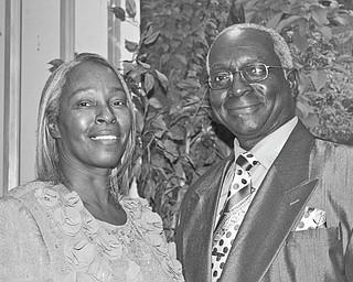 Vanessa Williams and Robert L. Johnson