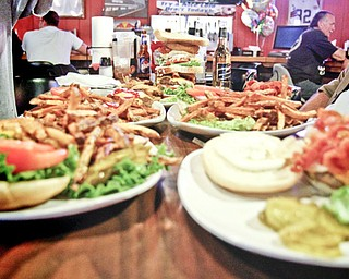 The meals served to the Burger Guyz at the Ice House Inn in Austintown