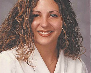 """Alexis Rae Pryor, formerly Alexis Rae Blasko, is a registered nurse, having worked the last 10 years in the pediatrics oncology department at Healthpark Hospital in Fort Myers, Fla. Her mother, Stephanie Blasko of Fort Myers, says Alexis was born and raised in the Youngstown area and graduated from Austintown Fitch High School in 1998, after which they moved to Florida. """"She is a dedicated and skilled nurse, who has touched so many lives with her kindness,"""" Stephanie writes. """"By choosing nursing as her profession, she is able to share those special attributes with the larger community."""""""