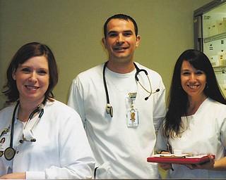 Carly, Adam and Linda of Boardman.