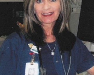 """Marian Trimble of Struthers writes this about her niece, Kimberly Pallante of Poland: """"We are fortunate that Kimberly answered her call to be a nurse. With extraordinary love and compassion, she has served patients in this region for over 30 years. Kimberly treats everyone like one of the family, """"on call"""" 24/7 for anyone in need. Just over one year ago, my husband, Frank, was seriously ill with pneumonia. With her usual expertise and grace, Kimberly continued to guide us through his recovery. Humble in attitude and strong in conviction, she has earned our gratitude and this recognition."""""""