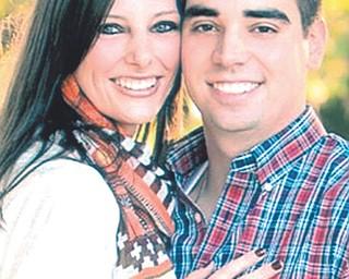 Megan Harris and Matt Howells