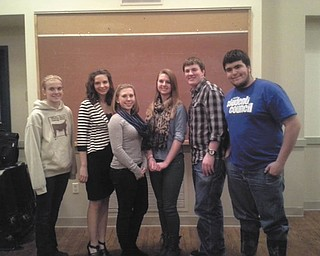 SPECIAL TO THE VINDICATOR The Mahoning County Junior Fair Board attended a Junior Fair Conference in Columbus in January. At the February and March meetings guest speakers were Dave Kohout and Judge Theresa Dellick. Officers recently elected, from left, are Mikayla Hahn and Meghan Svetlak, news reporters; Jenna Styka, secretary; Greta Frost, president; Levi Smith, vice president; and Sam Kulifay, assistant secretary. They are planning a trunk sale fundraiser from 8 a.m. to 6 p.m. June 1 at Canfield Fairgrounds. To reserve a spot call 330-506-6521. The cost is $25. The next junior fair board meeting is at 7 p.m. Thursday at Colonial Inn, Canfield Fairgrounds.