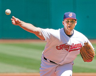 The Cleveland Indians won the first game of Monday's doubleheader against the New York Yankees. 1-0, in Cleveland behind pitcher Justin Masterson, who gave up four hits. Game 2 went to the Yankees, who shut out Cleveland, 7-0.