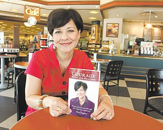 """Mary Pappas of Boardman authored her memoir """"Courage, Hope and Healing,"""" which chronicles her three-plus decade fight with six occurrences of being diagnosed with cancer, dealing with family tragedy and struggling to hold onto her faith."""