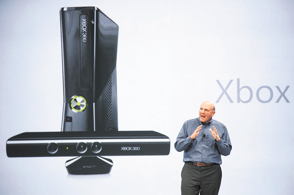 Microsoft CEO Steve Ballmer comments on Microsoft Xbox before unveiling the company's new Surface, a tablet computer to compete with Apple's iPad, at Hollywood's Milk Studios in Los Angeles. With the next Xbox expected to finally be revealed Tuesday, anticipation is high for what the company is planning for the next iteration of its gaming console.