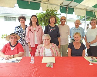 SPECIAL TO THE VINDICATOR Judges for the upcoming 27th Annual Spelling Bee at the Trumbull County Fair are, from left, seated, Charlotte Jessup, Ruby Hawkins and Kathy Luhaney; and standing, Denise Deltondo, Marilyn Stanton, Emilie Capots, John Reggiero, Bob Sanders and Barb Wright. Sponsored by the Trumbull Retired Teachers Association, the bee is set for 1 p.m. July 11 at the Trumbull County Fairgrounds, on Everett-Hull Road. Preregistration for grades one through eight has begun and will be accepted until June 13. All preregistered spellers will get free admission to the fair (excluding rides), treat bags and certificates. To register a child in advance, call Deltondo at 330-530-4011.