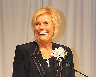 Dr. Laura Meeks, president of Eastern Gateway Community College, was named the 2013 Athena Award winner Thursday night at Mr. Anthony's Banquet Center in Boardman.