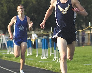 McDonald senior Patrick Kunkel is the youngest of five brothers who have helped make the Blue Devils' track and cross country programs one of Ohio's best.