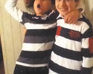 Brothers Anthony and Nicholas Vivacqua of Boardman strike a pose. Photo taken and sent in by their grandma, Barbara Vivacqua.