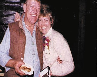 """Jody Milton Clingan of Pulaski, Pa., sent in this photo, one of her favorite pictures of her and her dad, Vincent (Ben) Milton. Jody writes, """"My Dad passed away in March; miss him terribly."""""""