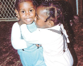 Othella May of Youngstown sent this picture of twins Michelle and Michael Pete, also of Youngstown.