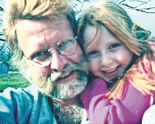 """Larry Detwiler of Canfield sent in this photo of himself and his daughter, Weslie Detwiler. She has grown, but Larry says, """"All I see is my adorable little girl!"""""""