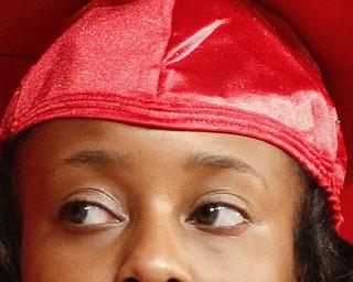 ROBERT K. YOSAY  | THE VINDICATOR  Salutatorian Jonelle McIntyre..   Chaney Campus High School Commencement Ceremony graduates 31