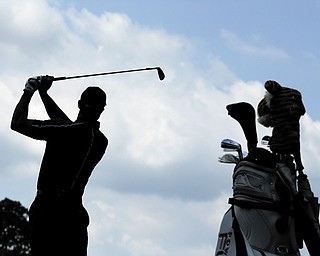 It's been five years since Tiger Woods last won a major championship. He'll look to snap that skid during this week's U.S. Open golf tournament at Merion Golf Club in Ardmore, Pa.