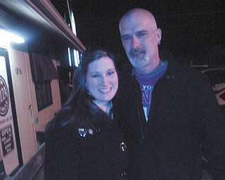 Erica Cook of East Palestine just met my biological dad, Shawn Canter, in March of this year. This is the first picture of them together.