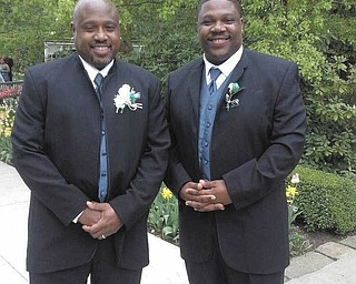 This dapper duo are father and son Michael Dawson Sr. and Michael Dawson Jr. of Youngstown.