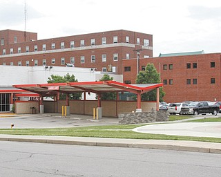 A view of the current entrance to the emergency department at Northside Medical Center on Gypsy Lane, Youngstown.