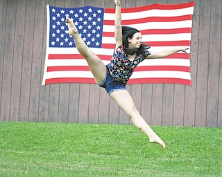 Jennifer Mullally of Poland, taken by her Aunt Joyce Buzzacco of Youngstown.