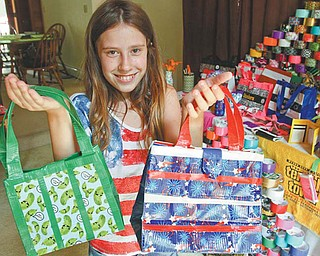 Hailey Rose, an 11-year-old from Transfer, Pa., recently began selling her duct-tape creations to earn money for college. Hailey's business, Just Stick With Me, has taken off in the past few months, and she can barely keep up with the demand for her handmade items.