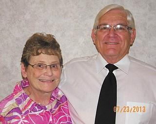 Mr. and Mrs. George D. Scott Sr.