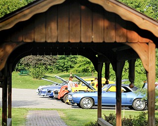 MADELYN P. HASTINGS | THE VINDICATOR..A car show was one of the things featured at the Austintown National Night Out in the Austintown Township Park on August 6, 2013. This is the first year Austintown participated in the National Night Out hosted by the police department and the trustees. ... - -30-..