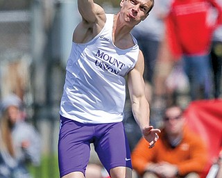 Canfield High School graduate Tyler Metille, now a hurdler and hepathlete at Mount Union, was a bit of a late bloomer as an athlete. Metille developed into a championship-caliber performer with the Purple Raiders. He has become an Ohio Athletic Conference champion and has set his sights on the U.S. Olympic Trials.