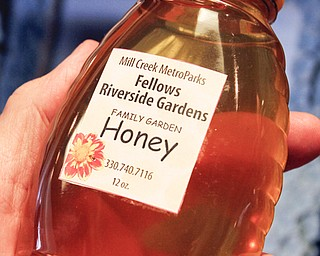 William D Lewis the Vindicator  Honey from Mill creek PArk hives is for sale at Davis Center.