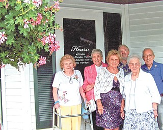 SPECIAL TO THE VINDICATOR The South High School January Class of 1943 met July 20 at the Springfield Grille in Boardman to celebrate its 70th reunion. In front from left are Norma Williams Wells and Bea Hoffmaster Elmo. In back are Jean Gamble Reid, Martha Ann Jenkins Boyer, Jerry Wells and Ted Khoury.