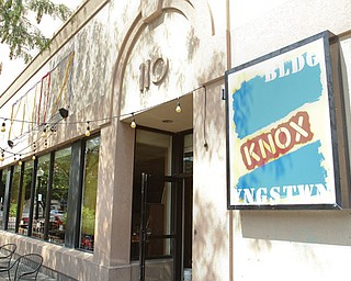 The Lemon Grove, a downtown bar and restaurant, is using its third name in four months. The business, which is struggling to attract a lunch crowd, is now the Knox Building in honor of it being the former site of an S.H. Knox Co. store.