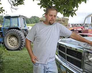 William d LEwis The Vindicator West Farmington farmer  Joe Turon talks about the challenges and rewards of farming.