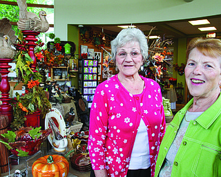 William d Lewis the Vindicator  Volunteers at Mill Creek PArk Davis Center in gift shop Beverly Italiano, left, and Carolyn Little.
