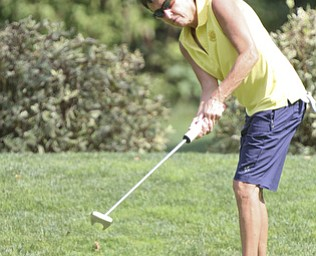 William D Lewis The Vindicator  Jill Harmon putts  during GGOV Sunday.