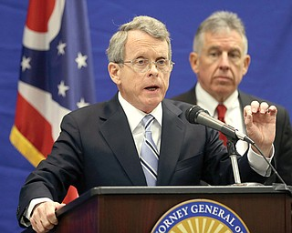 Ohio Attorney General Mike DeWine confirmed Monday that local and state law enforcement have used facial-recognition software several thousand times since June to match images of possible suspects and victims to pictures on Ohio drivers' licenses.
