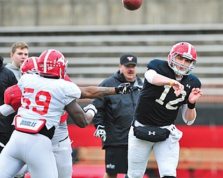 Youngstown State quarterback Kurt Hess, a Dayton native, will play his hometown team when the Penguins play host to the Flyers in Thursday's season opener at Stambaugh Stadium.