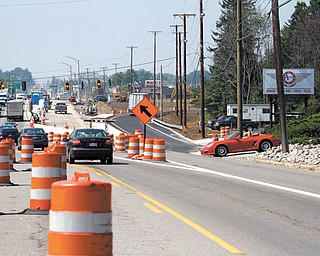 Construction by Ohio Department of Transportation workers on U.S. Route 224 and Interstate 680 continues and has tested the patience of motorists driving along Route 224. Workers have, however, completed the  northbound ramp to I-680, alleviating some of the traffic backups into Poland.