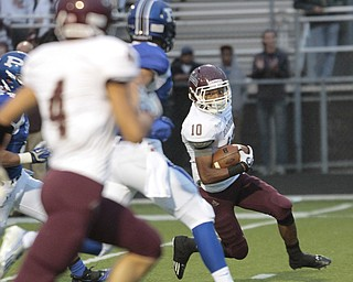 ROBERT  K. YOSAY | THE VINDICATOR.Boardman Spartans at Poland Bulldogs Stadium