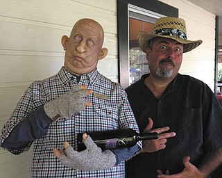 Ray Lukach vacationing at a California winery in Sonoma Valley.