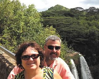 Ray and Mary Lukach in Kauai.